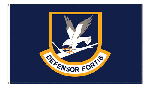 3' x 5' USAF Security Forces, Defensor Fortis Flags