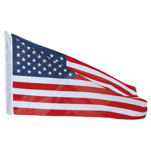 2-1/2' x 4' Poly Cotton American Banner Flag