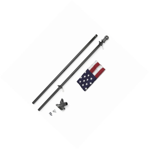 "6' x 1"" All American Flag Pole Kit"