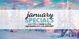 January Specials: Save 10% on Ready to Ship Sign Blanks!