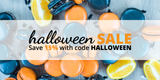 Halloween Sale: Save 15% Sitewide!