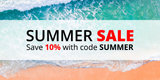 Summer Sale: Save 10% with code SUMMER