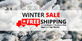 Winter Sale: FREE SHIPPING on Full Boxes of Ready to Ship Signs and Sign Blanks