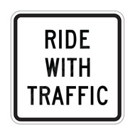 R9-3cp Ride with Traffic