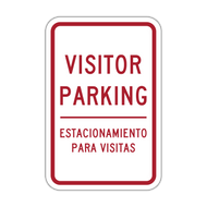 HR7-122-ES Visitor Parking - English/Spanish