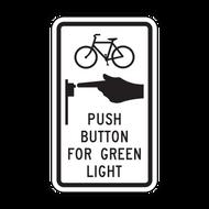 R10-24 Bike Push Button for Green Light