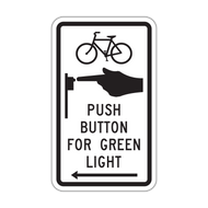 R10-26 Bike Push Button for Green Light