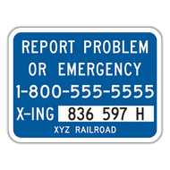 I-13 Alternate Emergency Notification Sign