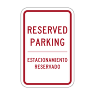 RP-ES Reserved Parking - English/Spanish