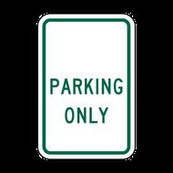 BPO _____ Parking Only