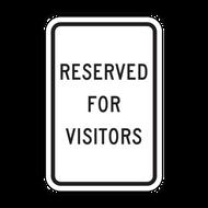 RFV Reserved for Visitors