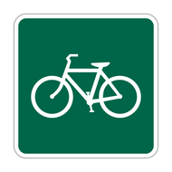 D11-1a Bicycles Permitted