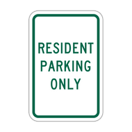 RPO Resident Parking Only