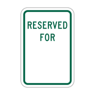 RFB Reserved for _____