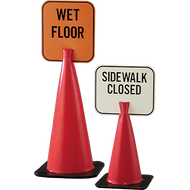 Snap-On Traffic Signs