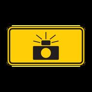 W16-10P Photo Enforced