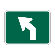 M5-2 Bicycle Route Arrow
