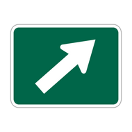 M6-2 Bicycle Route Arrow