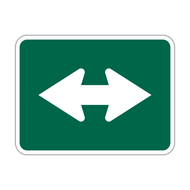 M6-4 Bicycle Route Arrow