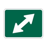 M6-5 Bicycle Route Arrow