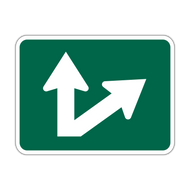 M6-7 Bicycle Route Arrow