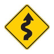 W1-5 Winding Road