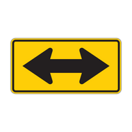 W1-7 2-Direction Large Arrow