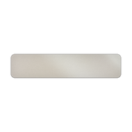 "42"" x 9"" Aluminum Street Name Sign Blank"