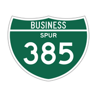 M1-3 Off-Interstate Route Sign (3 digits)
