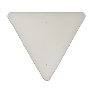 "24"" Triangle Aluminum Sign Blank"