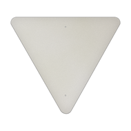 "36"" Triangle Aluminum Sign Blank"