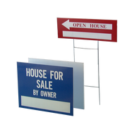 H-Stakes for Corrugated Plastic Signs
