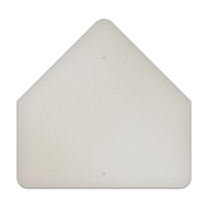 "36"" Pentagon Aluminum Sign Blank"