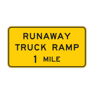 W7-4 Runaway Truck Ramp XX Miles