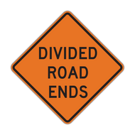 W6-2b Divided Road Ends