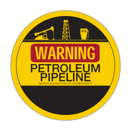 LLC-1 Warning Petroleum Pipeline