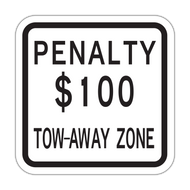 NJPEN Penalty $XXX Tow-Away Zone