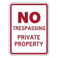 NTP No Trespassing Private Property