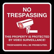 NTC No Trespassing (with camera)