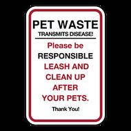 PWT Pet Waste Transmits Disease