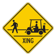 HW11-11 Golf Cart Crossing