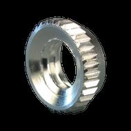"""5/16"""" NTPAFN Aluminum Fluted Nut"""