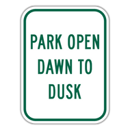 PODD Park Open Dawn to Dusk