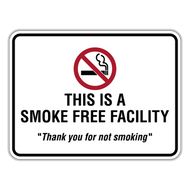 SFF This is a Smoke Free Facility
