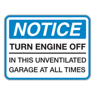 NTE Notice Turn Engine Off