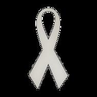 """5.5"""" x 11.5"""" Specialty Shape Aluminum Sign Blank - Ribbon 1"""