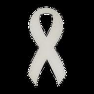 """5.5"""" x 11.5"""" Specialty Shape Aluminum Sign Blank - Ribbon 2"""