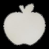 "8"" x 8"" Specialty Shape Aluminum Sign Blank - Apple"