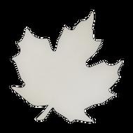 "7.5"" x 7.5"" Specialty Shape Aluminum Sign Blank - Leaf"