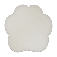 "8"" x 8"" Specialty Shape Aluminum Sign Blank - Paw Print Contour"